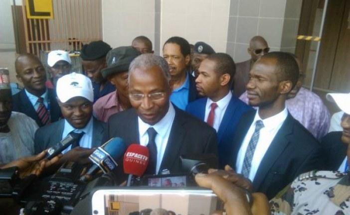 Labé : la base locale de l'UFDG réagit à la décision du tribunal ramenant Bah Oury au parti