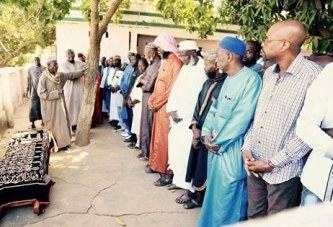 Gambie : Réaction d'Adama Barrow après le décès de son fils