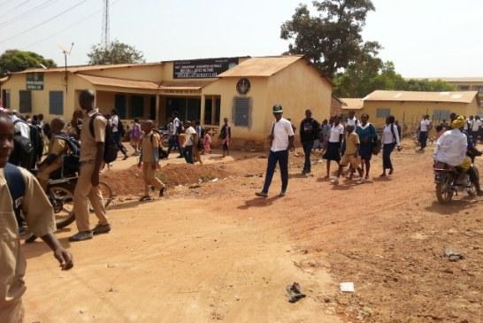 Labé : la grève de l'intersyndicale de l'éducation suivie dans les universités
