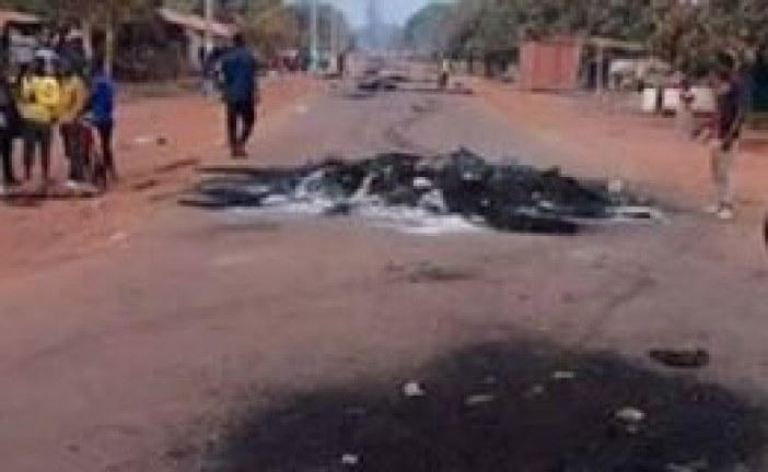 Boké: le nombre de blessés passe de 20 à 24, selon le service des urgences de l'hôpital régional