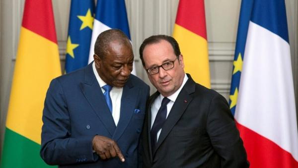 En visite à Paris, Alpha Condé plaide pour la libération de l'ivoirien Laurent Gbagbo