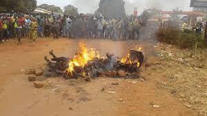 Insécurité à Conakry : Un présumé voleur brûlé vif à Lambandji