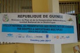 Santé-Boké: Tenue d'un atelier national de présentation des résultats de l'enquête MICS-Palu 2016 dans la préfecture