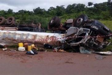 Un conducteur de camion-citerne décède dans un accident de la circulation à Mamou