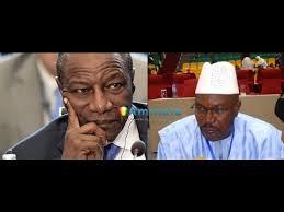 Alpha Condé aux obsèques de la maman d'Ousmane Kaba