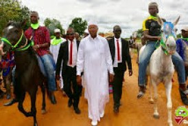Kankan: Ousmane Kaba, Majestueusement reçu dans le terroir du général Sékouba Konaté!