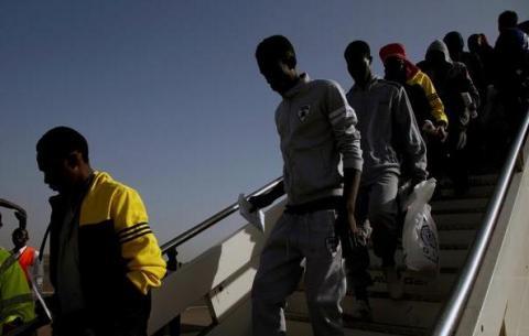 Guinée: 132 migrants guinéens rapatriés de Libye par l'OIM
