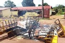 Boké: Le siège du RPG saccagé par des manifestants
