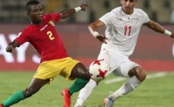 Mondial U17: Le Syli cadet s'incline (1- 3) face à l'Iran