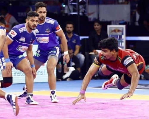Most Points in a Match Pro Kabaddi.