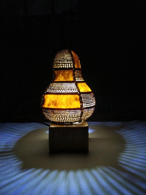 hediyelik su kabağı lamba