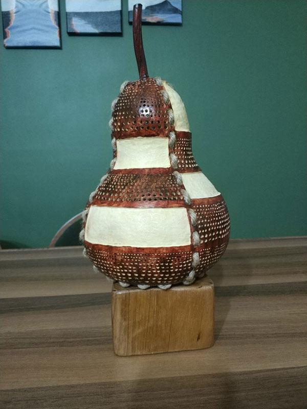 model su kabağı hediyelik lamba