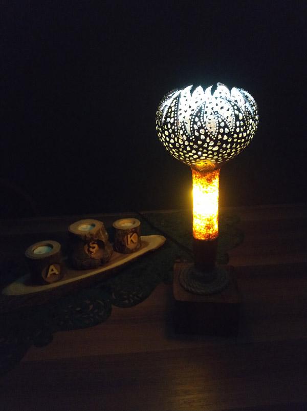 su kabağı özel tasarım model lambalar