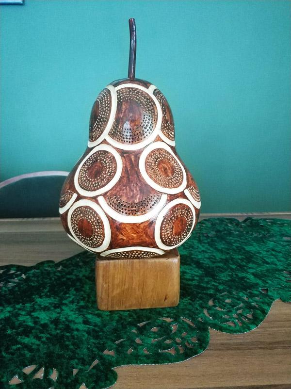 su kabağından tasarlanmışışıklı dekoratif led gece lamba