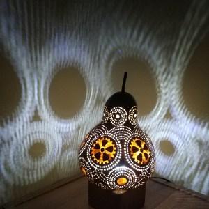 su kabağı gece led lamba