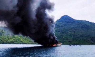 Foto Headline, Kapal ikan asing, Kia vietnam, KKP Tangkap kapal, Penenggelaman kapal asing