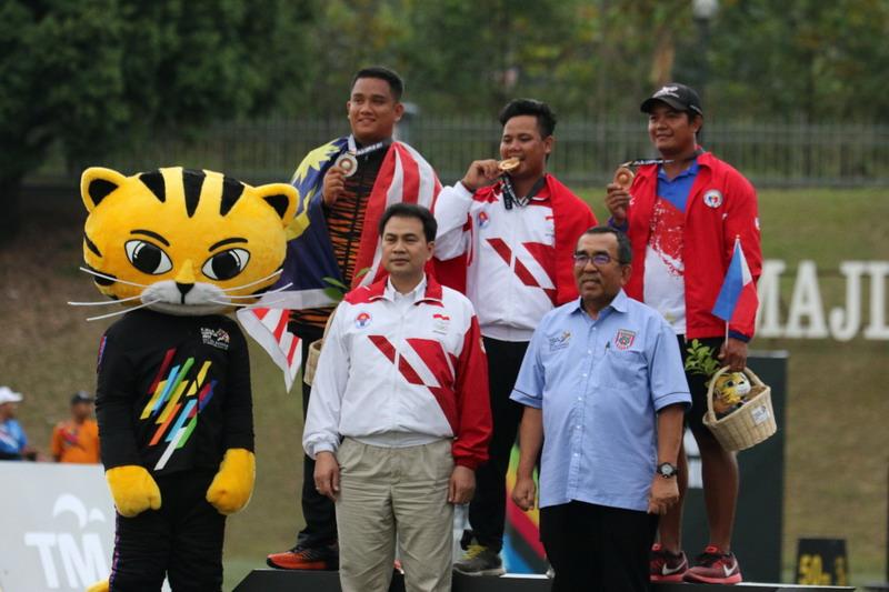 Panahan Tutup SEA Games 2017 dengan Medali Emas