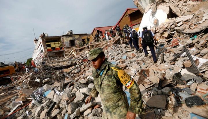 Setidaknya 119 Tewas Karena Gempa Hebat Meksiko