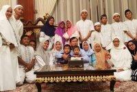 Prabowo Gelar Doa Bersama Anak Yatim Jelang Pergantian Tahun