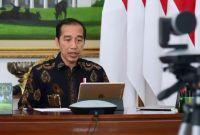Hadapi Cobaan Corona, Jokowi: Mari Kita Sabar