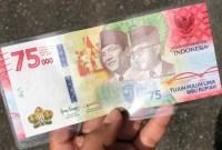 Uang Kertas 75.000 Dijual Fantastis di Marketplace
