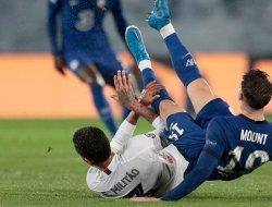 Semifinal Liga Champions : Chelsea Imbangi Madrid