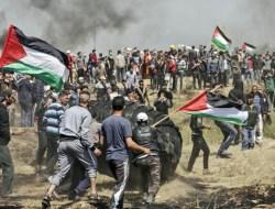 Ratusan Terluka dalam Bentrok Polisi Israel dan Warga Palestina