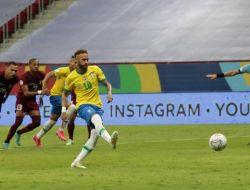 Copa America 2021 : Brasil Bungkam Venezuela 3-0