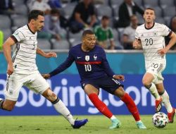 EURO 2020 : Prancis Unggul Tipis Atas Jerman