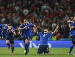 Jelang Final Euro 2020 : 3 Catatan penting Duel Italia Lawan Inggris