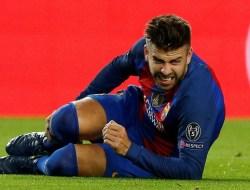 Gerard Pique Absen Hingga Pertengahan September Karena Cedera