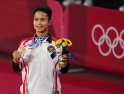 Olimpiade Tokyo 2020: Raih Perunggu, Ginting Tunggal Putra ke-7 Indonesia yang Raih Medali