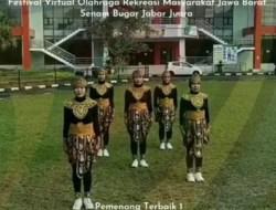 Atlet Olahraga Rekreasi Kota Sukabumi Raih Prestasi Tingkat Jawa Barat