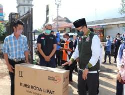 Wakil Bupati Garut Salurkan Bantuan untuk Yatim dan Dhuafa di Giriawas Cikajang