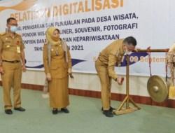 Pelatihan Digitalisasi Kepariwisataan Kota Kendari Dibuka Wali Kota Kendari