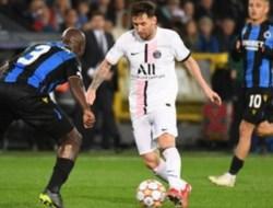 Messi Tak Dapat Support dari Pemain PSG Lain saat Ditahan Club Brugge