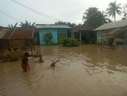 1.238 Rumah di Sergai Sumut Terendam Banjir Akibat Curah Hujan yang Tinggi