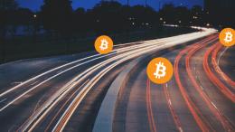 transaksi bitcoin sangat padat