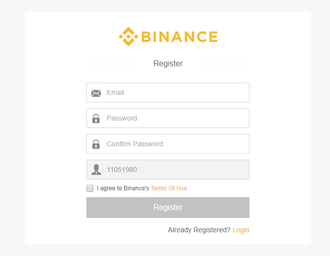 akun binance