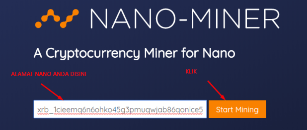Mining Altcoin NANO lewat Android 3