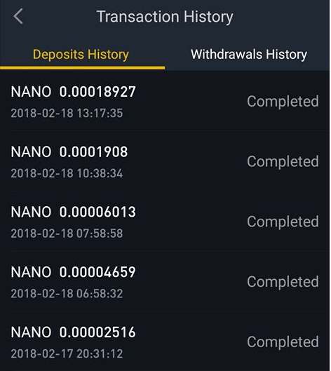 Mining Altcoin NANO lewat Android 5