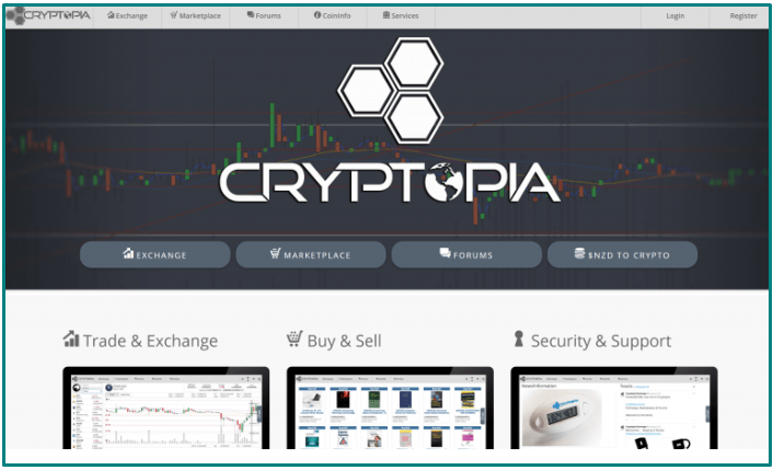 Cryptopia tempat trading cryptocurrency yang bagus