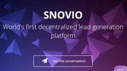 Airdrop Snovio (SNOV) Berikan 100 Tokens Secara Gratis