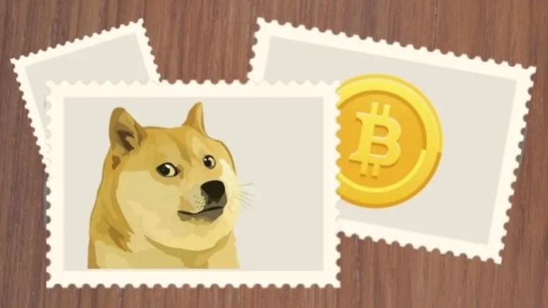 perangko digital pertama di dunia