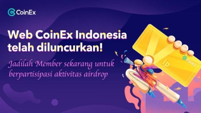 Web CoinEx versi Indonesia