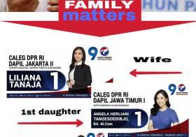 Keluarga Caleg DPR Hary Tanoesoedibjo