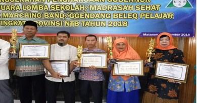 Hebat SD 11 Taliwang, Raih Prestasi Sekolah Sehat Terbaik Kedua Se NTB