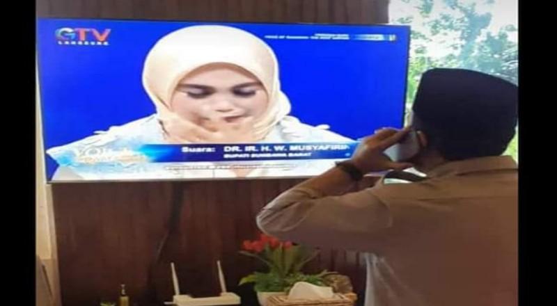 Video Mengharukan, Fadlika Dapat Telpon Dukungan Bupati KSB