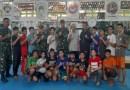 Ketua Koni KSB Dampingi Danrem, Beri Motivasi Petinju Lokal