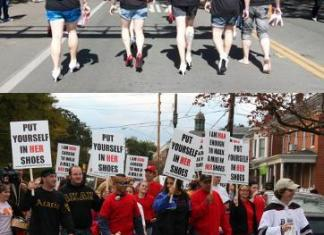 aktivis,jalan kaki,kartono,pembela perempuan